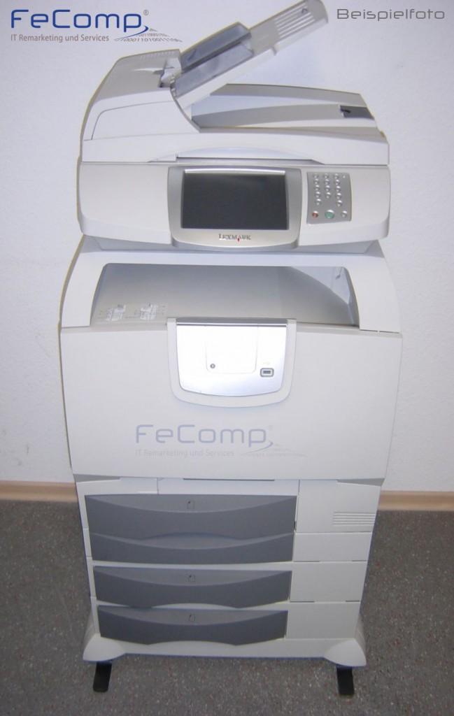 lexmark x782e laserdrucker multifunktionsger t g nstig. Black Bedroom Furniture Sets. Home Design Ideas