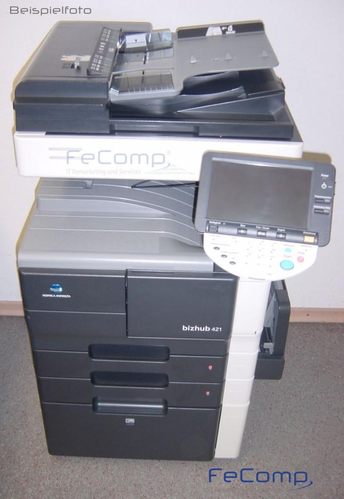 konica minolta bizhub 421 din a3 kopierer drucker scanner ma 581 ebay. Black Bedroom Furniture Sets. Home Design Ideas