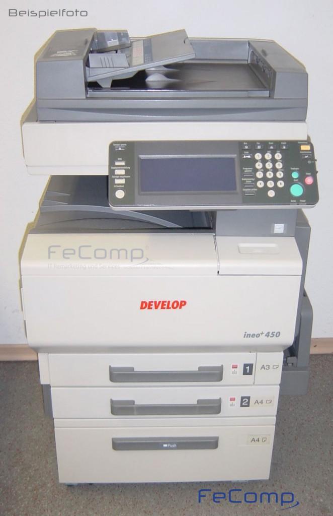 develop ineo 450 din a3 farb kopierer drucker scanner ma 654 ebay. Black Bedroom Furniture Sets. Home Design Ideas